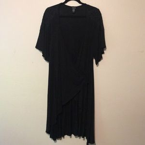 Torrid High/Low Wrap Dress size 2 (18/20) NEW